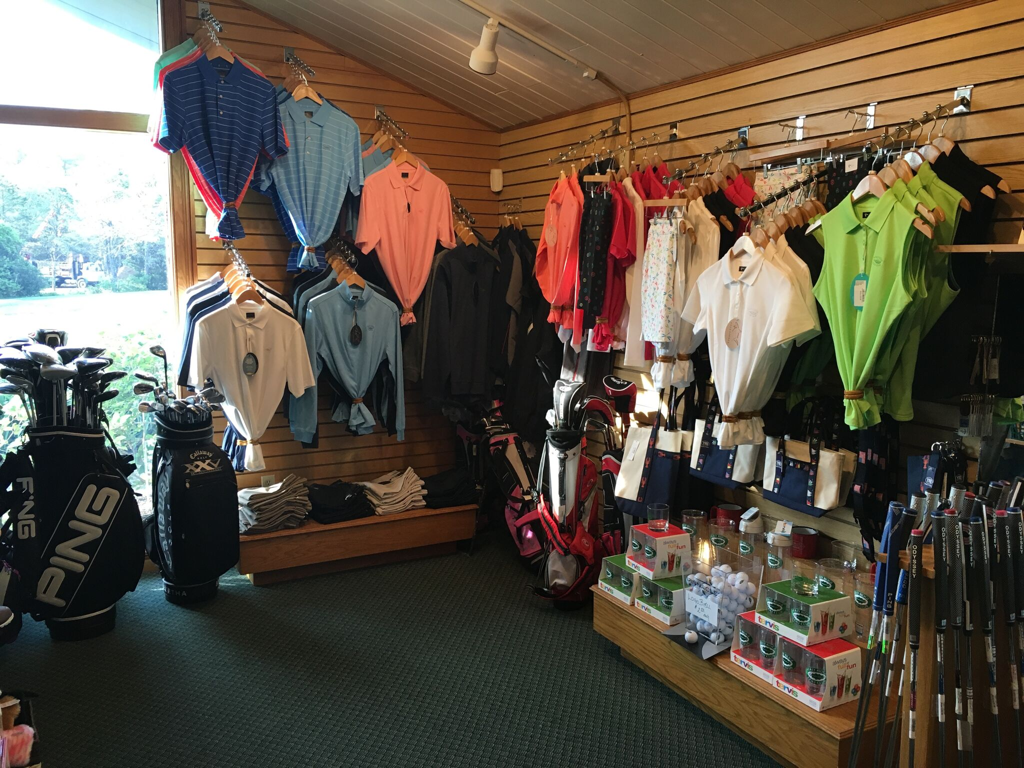 Golf Shop Slider